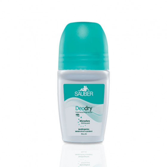 Sauber Deodry Roll-On Deodorante 48H 50 Ml-923510440-22